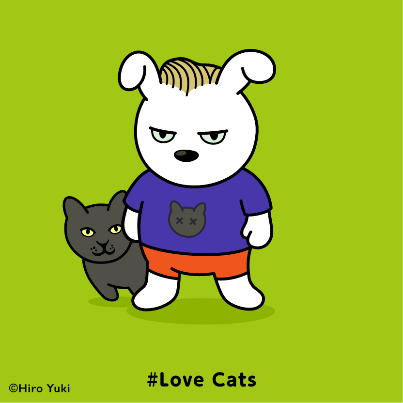 Usagi#Love Cats